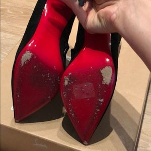 e15ab3f0c072 Christian Louboutin Shoes - ❤️Christian Louboutin So Kate Pointed Booties  39❤️